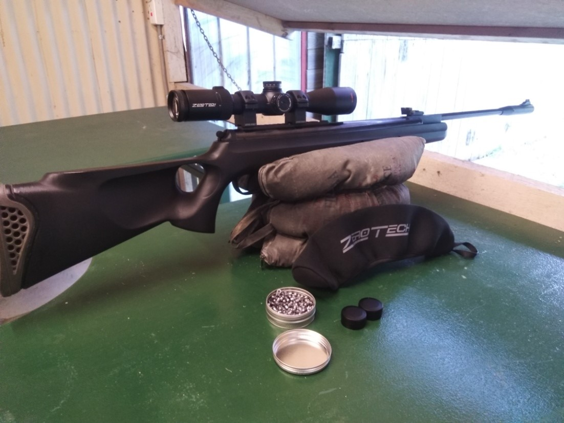 ZEROTECH SCOPE TESTING WITH MAGNUM SPRING PISTON RIFLE